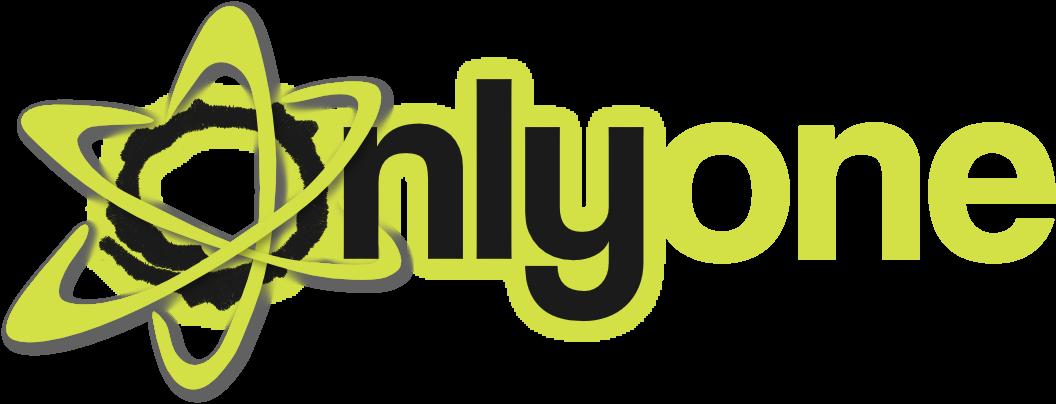 Logo onlyone blanco heather